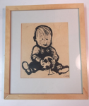 Jan van der Does tekende zijn zoon