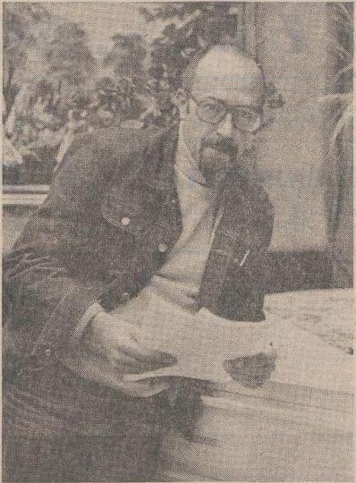 Portret van Coenen in het Limburgs Dagblad van 14-12-1973 bij het artikel 'Limburgers in Hilversum'