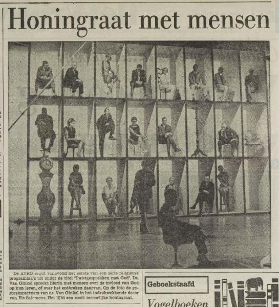 Bron: Het Vrije Volk van 26 september 1967. Koninklijke bibliotheek